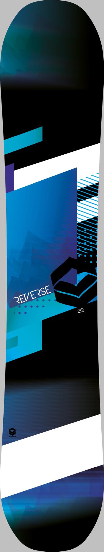 Reverse blue - Top
