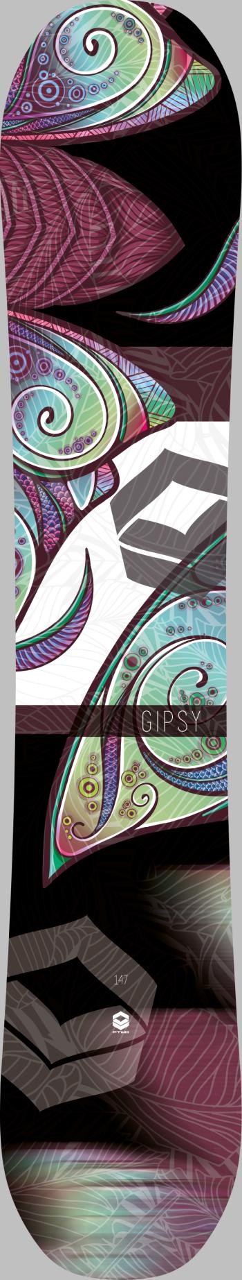 Gipsy black - Top